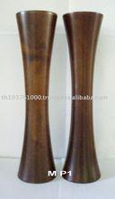 Mango wooden flower vase