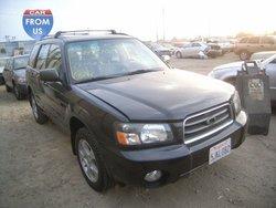 Salvage Subaru Forester 2004 used car