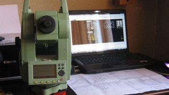 Leica TC 407 total station