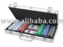 300pcs 11.5g poker chips in alu.case