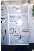 legguards for all bikes in stainless steel