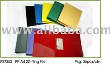 PS7252 PP 2D RING FILE folder