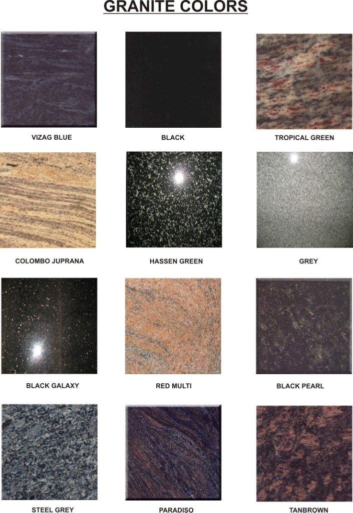 Los colores del granito granito identificaci n del - Colores del granito ...