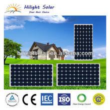 solar roof tile in 155W mono solar panels