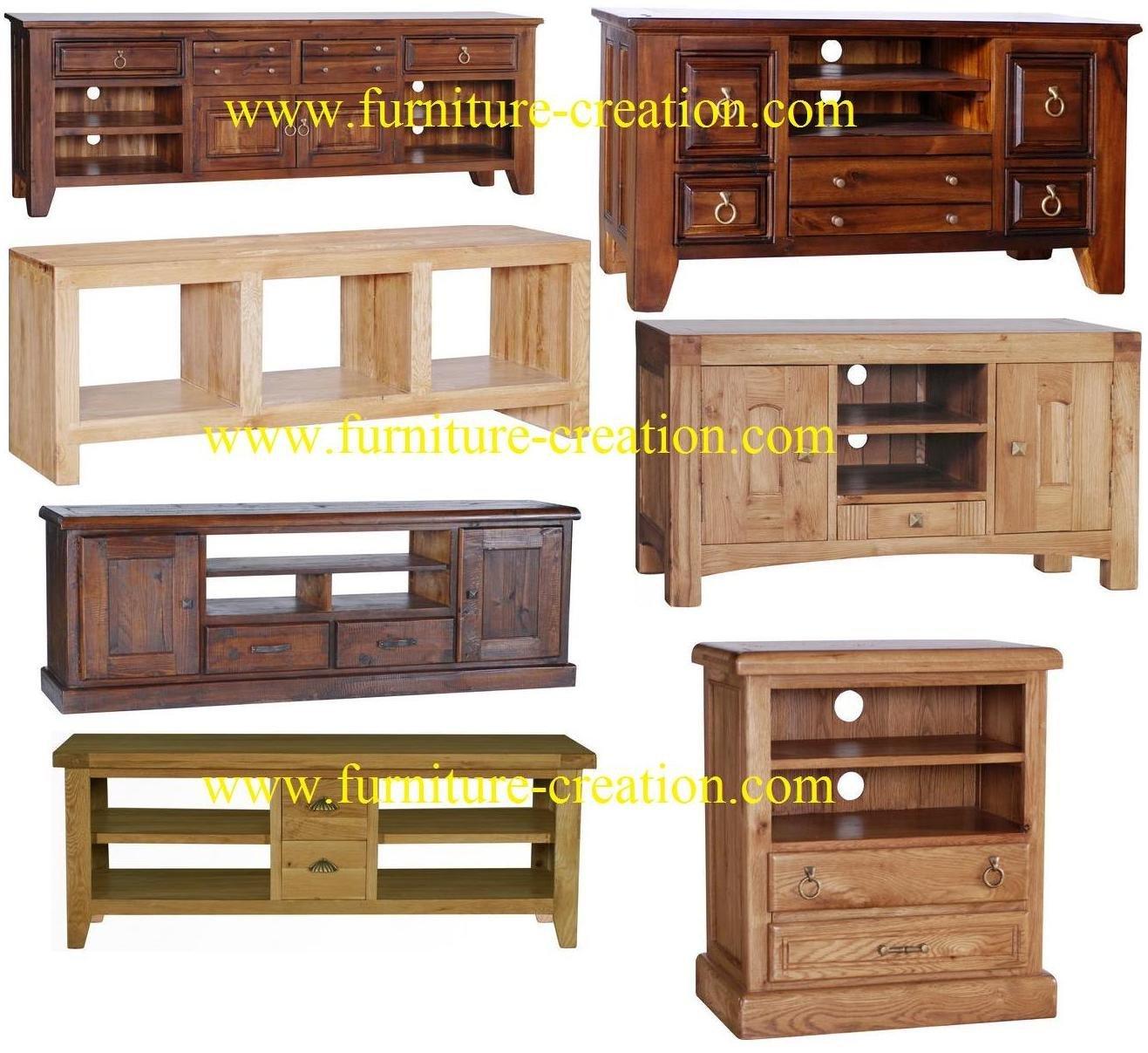 Entretenimiento muebles de madera maciza armarios de for Muebles para cds madera