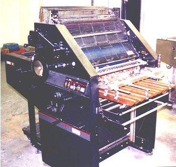 AB DICK9890 machinery