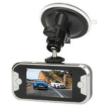 2.7 TFT Max Interpolation 10MP CMOS 1080P 6-LED Night Vision Dual Camera Car DVR Camcorder - Black