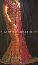 Exclusives Wedding Lehenga/Lenghas ~ Bollywood Fashion Bridal Lengha Choli ~ Indian Wedding Clothes/Clothing Wear Lehngas