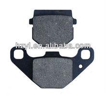 No asbestos brake pads for motorcycle