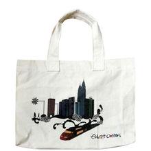 Promotional Fashion Drawstring Canvas Shopping Bag
