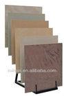 Retail stores Simple Ceramics Flooring Tile Display Rack triangle structure