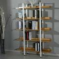 직접 공급 벽 디자인을 간단한 나무 책장