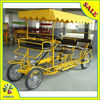 Self-service quadricycle bike in surrey for 2/two or 4/four person