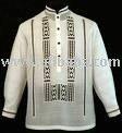 barong tagalog garment