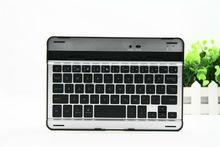 factory mini ultra slim aluminum wireless bluetooth keyboard case for ipad mini