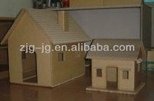colorful cardboard pet house