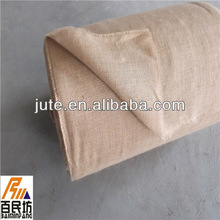 hessian jute cloth in nature color 25.6'' wide 100meters long