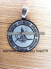 2014 Cheapest high quality stainless steel Cross pendant Religious Pendant metal gift ball pen