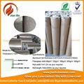 Papel de aluminio de fibra de vidrio, Propiedades del material