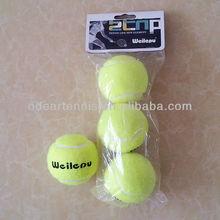 Cheap tennis ball used as tennis gift, rubber ball preasure