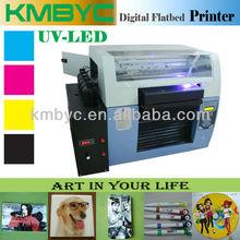 white ink flat uv led machine digital print pens