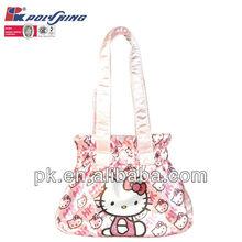 2013 new design hello kitty tote bag for girls(PK-10993)