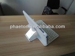 360 Degree ABS Rotatable rotate case wireless Bluetooth Keyboard for ipad mini