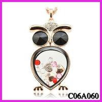 Super popular Owl pendant necklace jewelry sweater chain