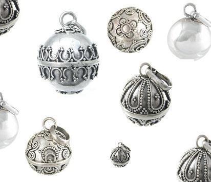 llamadores de angeles de plata caller of angels silver pendant