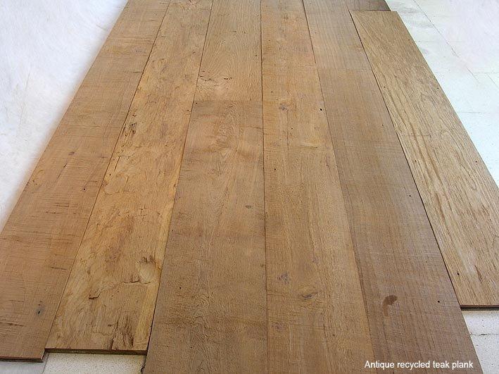 antico legno di teak listoni handscraped pavimentazione-Altri Pavimentazione-Id prodotto ...