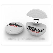 Logo customized Golf Flash drive