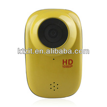 H.264 1080P Wide Angel Waterproof 30M Mini Action Camera/Car DVR With Max 32GB Storage
