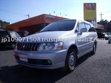 2000 Used car NISSAN BASSARA X/Van/RHD/54800km/Gas/Petrol/Silver