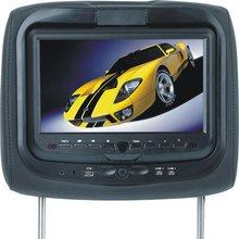 9inch Headrest DVD Player with USB port, SD/MMC/MS port,Game system, IR transmitter,speaker (2V-219HD-B)