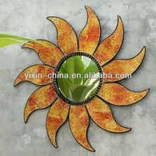 2013 Beautiful Sunflower Wrought Iron Mosaic Decorative Mirror