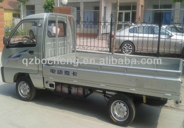 1 Ton Load Mini Electric Cargo Truck With 2.0~2.2m Carriage