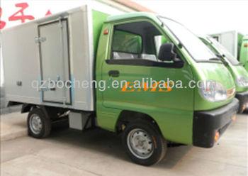1 Ton Load Light Electric Van Cargo Truck With 2.0~2.2m Van