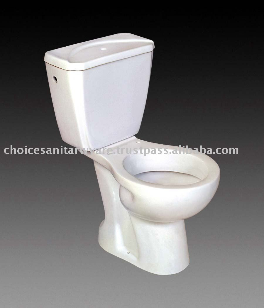 SYPHON WATER CLOSET S TYPE WITH CISTERN