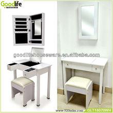 White/ black painting dressing table vintage