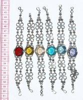 Alpaca Link Bracelets Murano Jewelry American Style, Wholesale Stainless Steel Jewelry