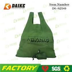 OEM Personalized Reusable Eco Custom Nylon folden shopping bag DK-NZ049