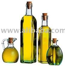 OLIVE OIL , GREEN AND BLACK OLIVES