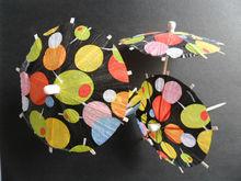 Hot selling umbrella Party Picks parasol party picks Cocktail Umbrella Picks