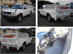 1998 Used car NISSAN DATSUN PICKUP TRUCK DX/PickUp/RHD/31200km/Gas/Petrol/White automobile