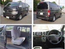 2007 Used car TOYOTA HIACE V SUPER GL LONG/Van/RHD/25400km/Diesel/Gray