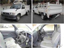 2000 Used car TOYOTA HILUX PICKUP TRUCK DX/PickUp/RHD/23700km/Gas/Petrol/White
