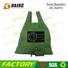 Cheap Reusable Eco OEM Custom Nylon super market shopping bag DK-NZ079