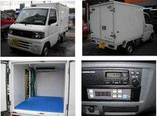 2001 Buying used truck MITSUBISHI MINICAB TRUCK REFRIGERATION AND REFRIGERATOR CAR -5C/Truck/RHD/60500km/Gas/Petrol/White