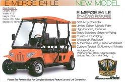 E-Merge E4 LE Golf Vehicle
