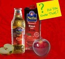 Netto 100% Natural Apple Juice